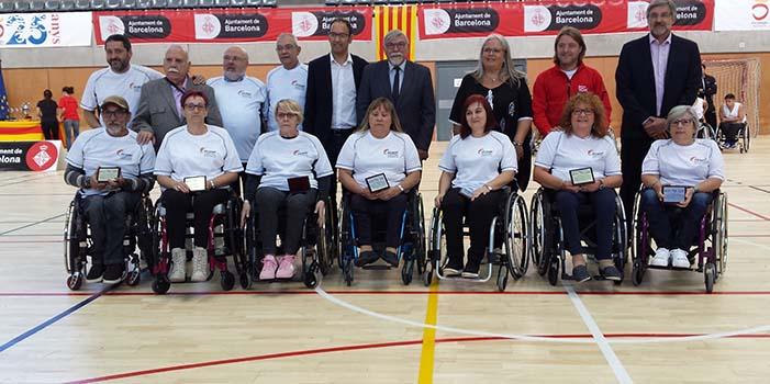 Homenatge als participants paral mpics de b squet en cadira de rodes de barcelona 92 esport - Cadira barcelona ...